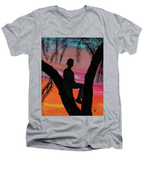 East Trailridge Men's V-Neck T-Shirt