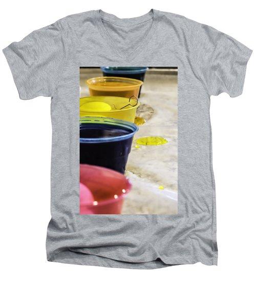 Easter Eggs Men's V-Neck T-Shirt
