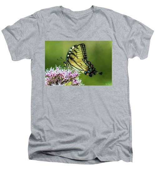 Eastern Tiger Swallowtail Men's V-Neck T-Shirt
