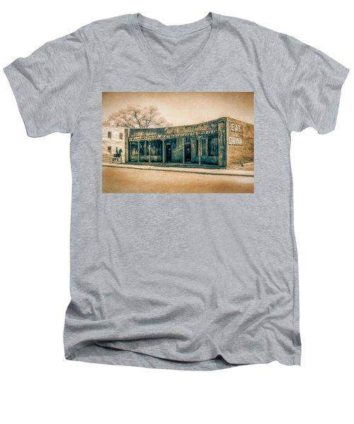 Eat And Drink Men's V-Neck T-Shirt