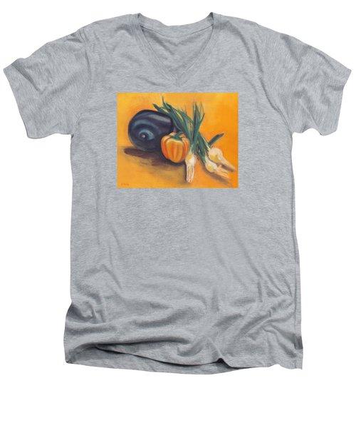 Eat Your Vegetables Men's V-Neck T-Shirt