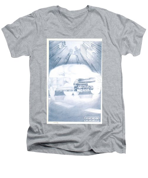 Eaton Electric Van Men's V-Neck T-Shirt