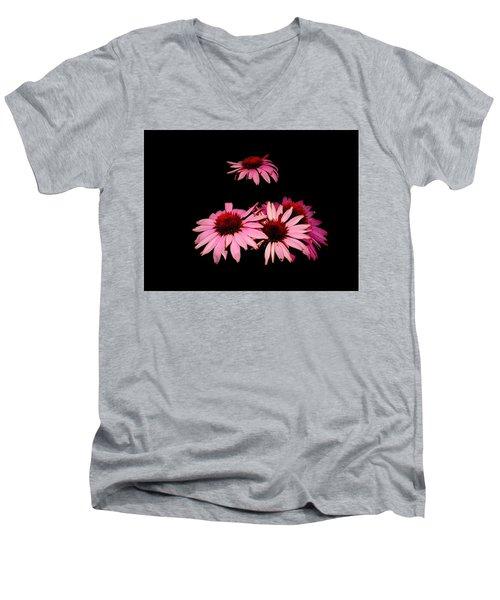 Echinacea Pop Men's V-Neck T-Shirt