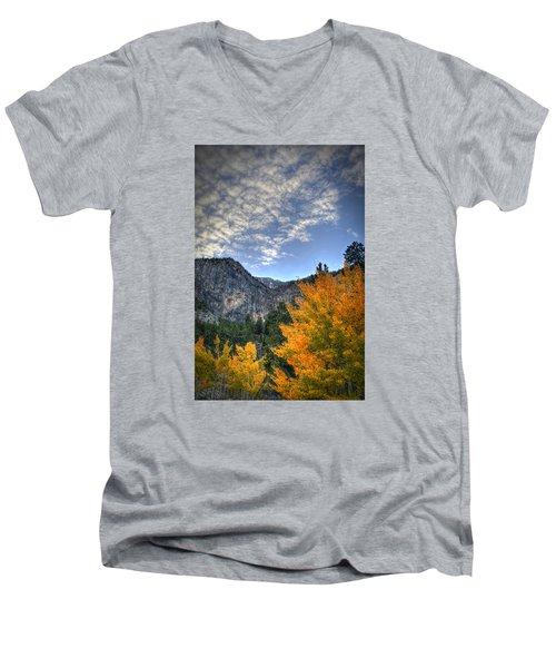Echo Road Aspen Men's V-Neck T-Shirt