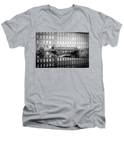 Echoes Of Mills Past Men's V-Neck T-Shirt