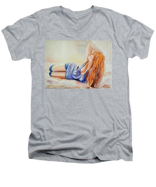 Ecstacy Men's V-Neck T-Shirt