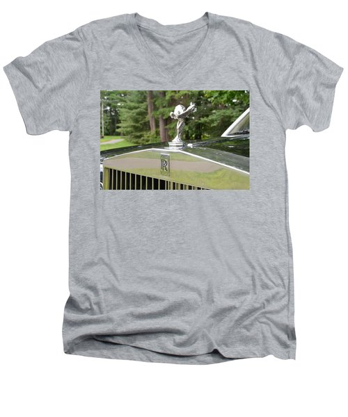 Men's V-Neck T-Shirt featuring the photograph Ecstasy by John Schneider