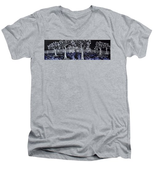 Eden Gate. Men's V-Neck T-Shirt