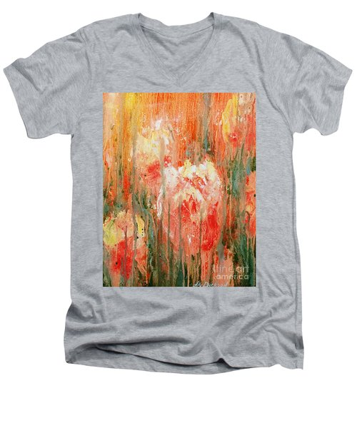 Efflorescence Men's V-Neck T-Shirt