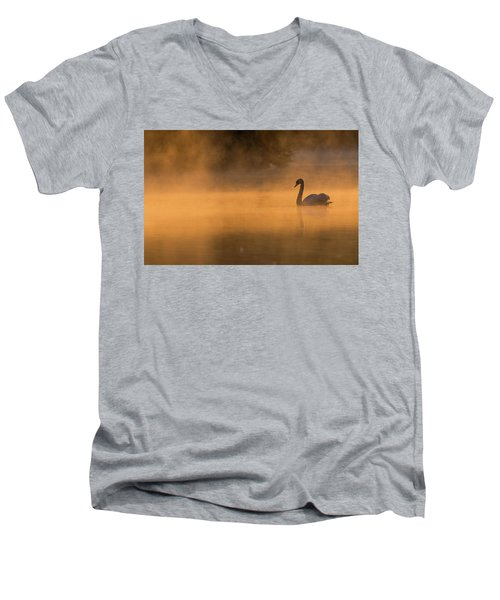 Effulgent Stratford Morning Air Men's V-Neck T-Shirt