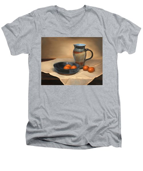 Eggs And Pitcher Men's V-Neck T-Shirt
