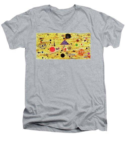 Egyptian Sunrise Men's V-Neck T-Shirt