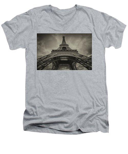Eiffel Tower 1 Men's V-Neck T-Shirt