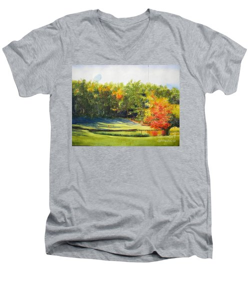 Eighteenth Hole Men's V-Neck T-Shirt