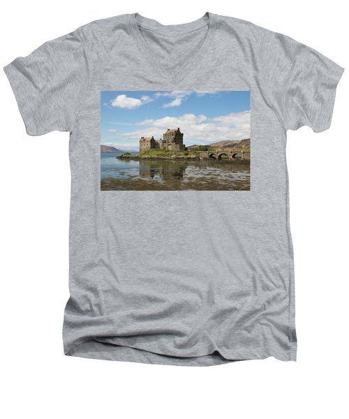 Eilean Donan Castle - Scotland Men's V-Neck T-Shirt