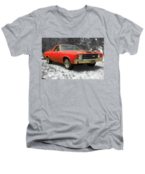 El Camino 1 Men's V-Neck T-Shirt