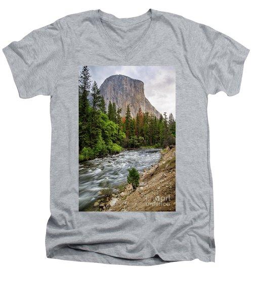 El Cap #3 Men's V-Neck T-Shirt