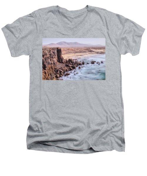 El Cotillo - Fuerteventura Men's V-Neck T-Shirt by Joana Kruse