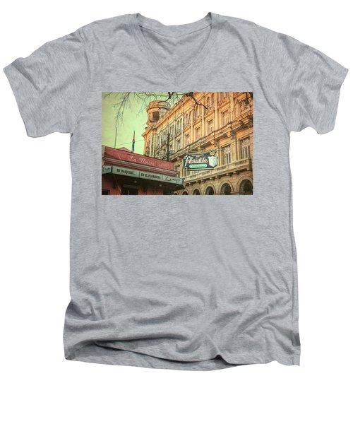 El Floridita Havana Cuba Men's V-Neck T-Shirt