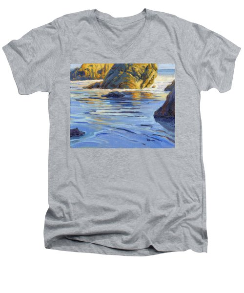 Pacific Reflections 2 Men's V-Neck T-Shirt