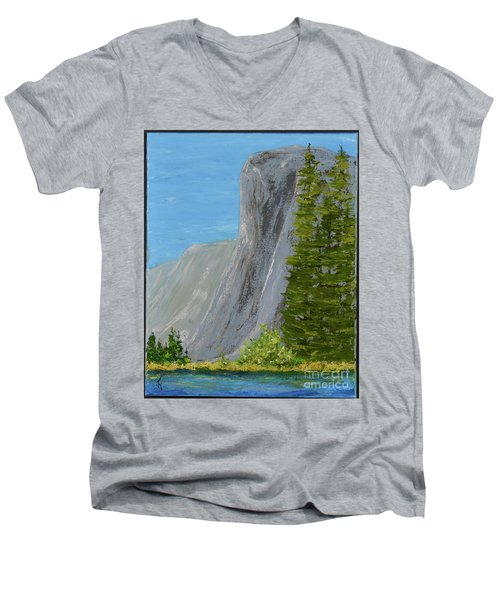 Elcapitan Men's V-Neck T-Shirt