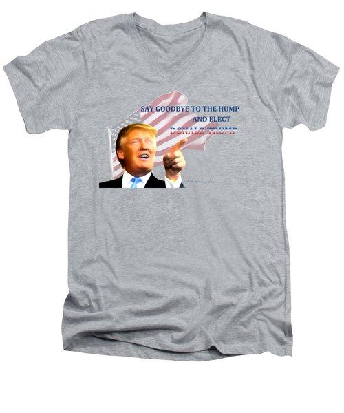 Elect Trump Men's V-Neck T-Shirt