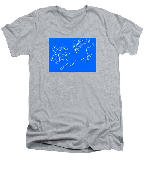 Election Gallery Logo Men's V-Neck T-Shirt