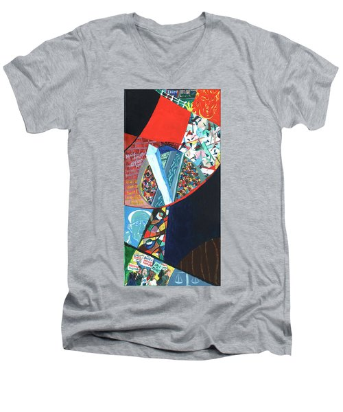 Election Of Outsiders 2016 Men's V-Neck T-Shirt