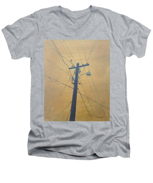 Electrified Men's V-Neck T-Shirt