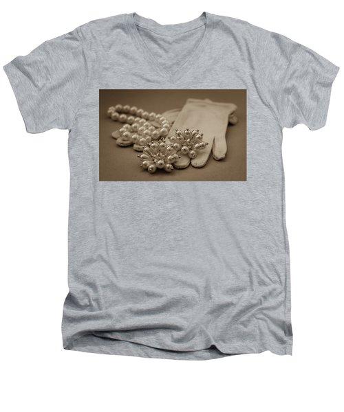 Elegant Lifestyle Men's V-Neck T-Shirt