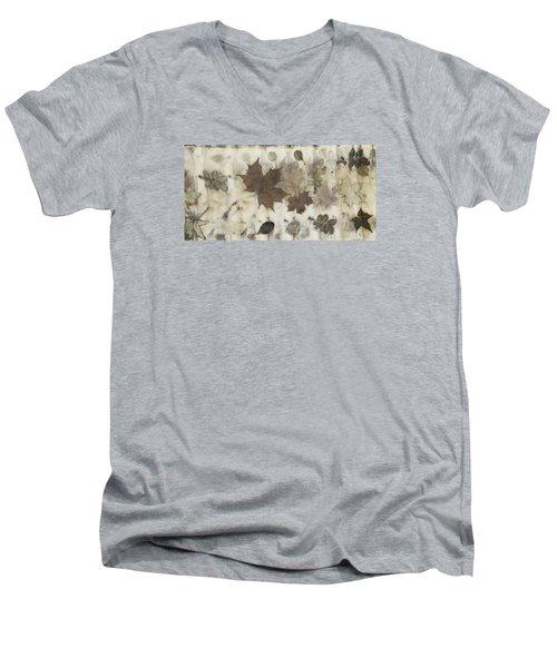 Elements Of Autumn Men's V-Neck T-Shirt by Carolyn Doe