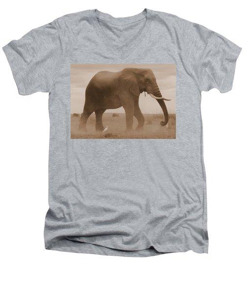 Elephant Dust Men's V-Neck T-Shirt