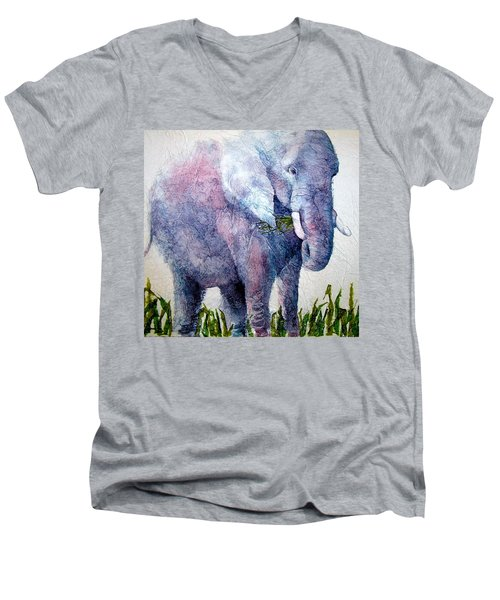 Elephant Sanctuary Men's V-Neck T-Shirt