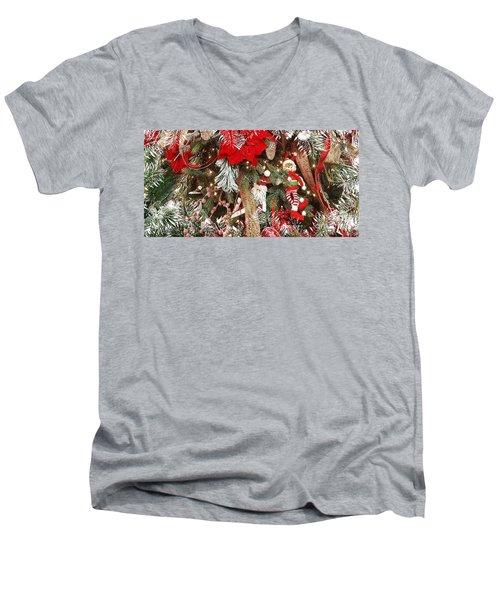 Elf In A Tree Men's V-Neck T-Shirt