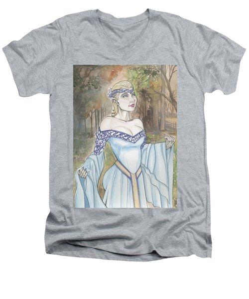 Elf Lotr Men's V-Neck T-Shirt