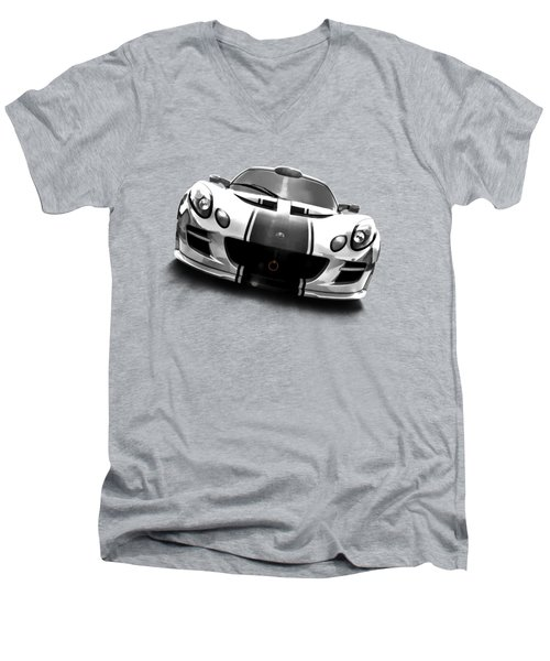 Elise Men's V-Neck T-Shirt by Douglas Pittman