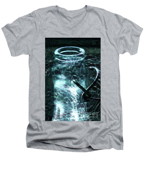 Men's V-Neck T-Shirt featuring the photograph Elixar by Stephen Mitchell