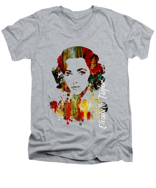 Elizabeth Taylor Collection Men's V-Neck T-Shirt