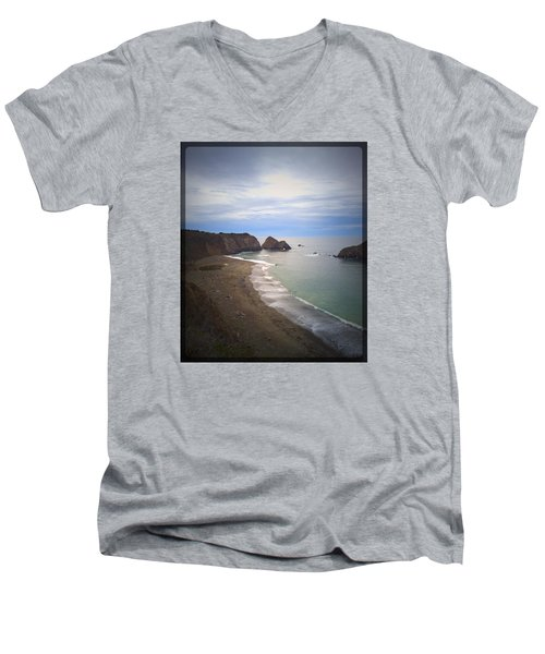 Elk Beach Men's V-Neck T-Shirt