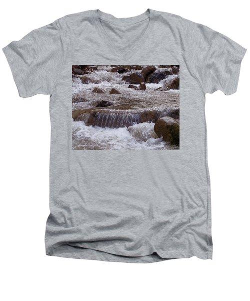 Ellenville Waterfall Men's V-Neck T-Shirt