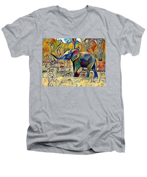 Ellie Men's V-Neck T-Shirt