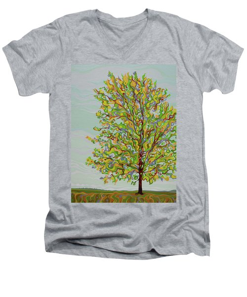 Ellie's Tree Men's V-Neck T-Shirt