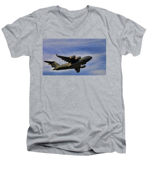 Elmendorf Third Wing Men's V-Neck T-Shirt