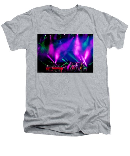 Elton John In 2015 Men's V-Neck T-Shirt
