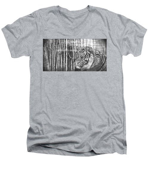 Elusive Nature Men's V-Neck T-Shirt