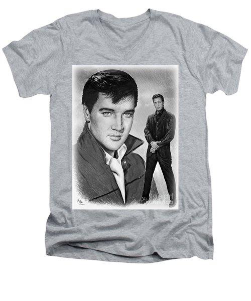 Elvis Roustabout Men's V-Neck T-Shirt