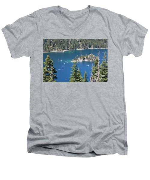 Emerald Bay Men's V-Neck T-Shirt