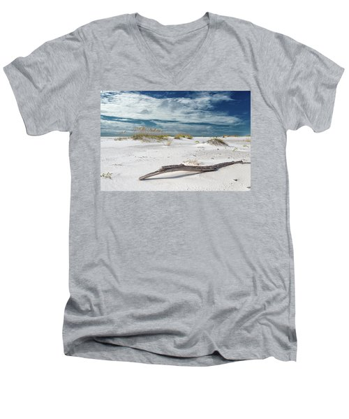 Emerald Coast Beauty Men's V-Neck T-Shirt