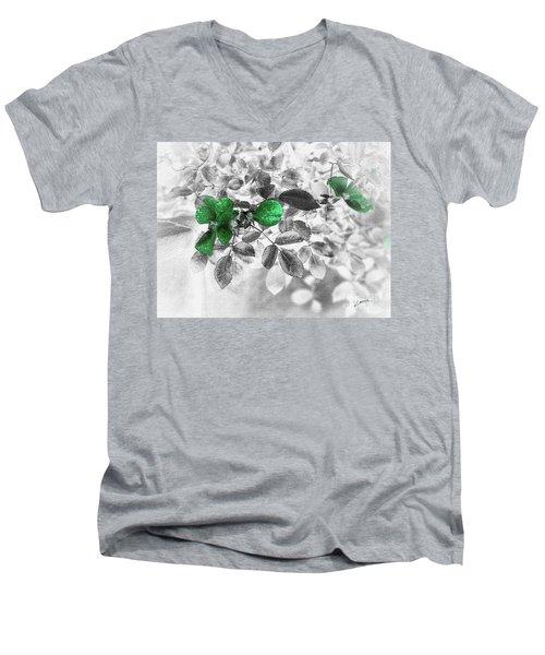 Emerald Green Of Ireland Men's V-Neck T-Shirt
