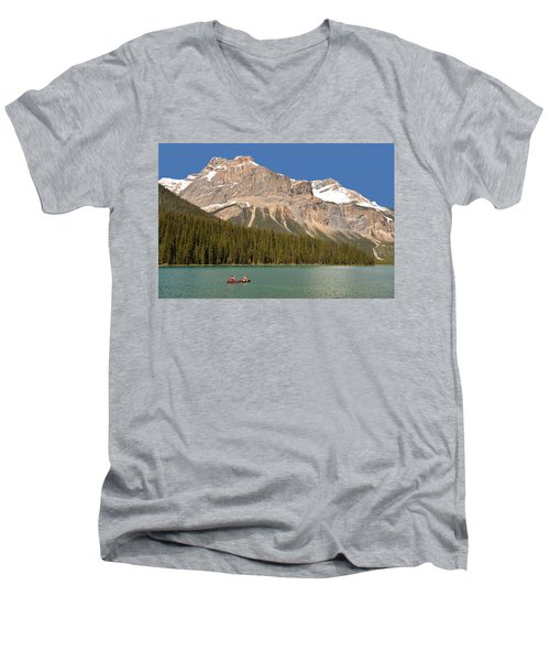 Emerald Lake Men's V-Neck T-Shirt
